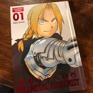 FullMetal Alchemist Vol. 1 Manga Comic Book
